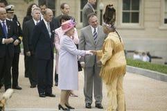 Regina Elizabeth II di Sua Maestà Fotografia Stock