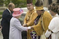 Regina Elizabeth II di Sua Maestà Immagini Stock Libere da Diritti