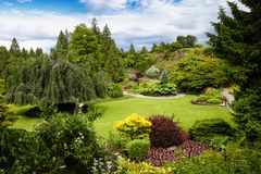 Regina Elizabeth Park a Vancouver, Canada Immagine Stock Libera da Diritti