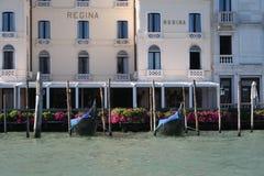 Regina Hotel i Venedig Royaltyfri Foto