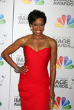 Regina King. LOS ANGELES - FEB 17:  Regina King arrives at the 43rd NAACP Image Awards at the Shrine Auditorium on February 17, 2012 in Los Angeles, CA Royalty Free Stock Photography