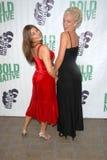 Regina Lines and Tonya Kay at the premiere of  Stock Photo