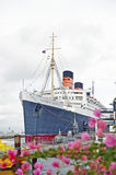 Regina Mary Oceanliner di RMS Immagini Stock Libere da Diritti