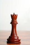 Regina nera di scacchi Fotografia Stock