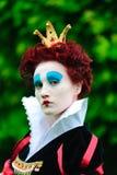 Regina rossa Fotografie Stock