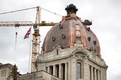 Regina Saskatchewan Legislature Royalty Free Stock Photography