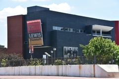 Reginald F. Lewis Museum. The exterior of The Reginald F. Lewis Museum of Maryland African-American History & Culture, an African-American museum located in Stock Photos