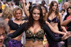 Regine di Dancing Fotografia Stock Libera da Diritti