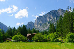 The Region in the Austrian Central Alps Stock Images