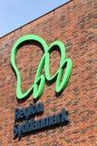 Region av södra Danmark byggnad i Vejle fotografering för bildbyråer