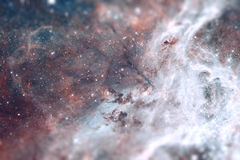 The region 30 Doradus lies in the Large Magellanic Cloud galaxy. Royalty Free Stock Images