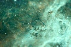 The region 30 Doradus lies in the Large Magellanic Cloud galaxy. Royalty Free Stock Photo