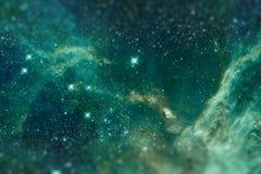 The region 30 Doradus lies in the Large Magellanic Cloud galaxy. Stock Photography