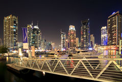 Region of Dubai - Dubai Marina Royalty Free Stock Photo