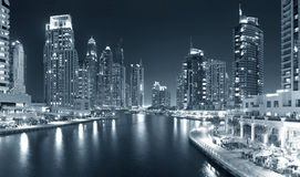 Region of Dubai - Dubai Marina Stock Photos