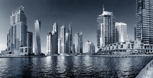 Region of Dubai - Dubai Marina Stock Photography