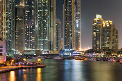 Region of Dubai - Dubai Marina Stock Image