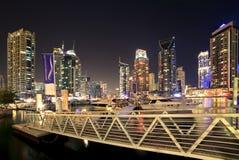 Region Dubaj, Dubaj Marina - Zdjęcie Royalty Free
