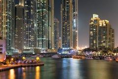 Region Dubaj, Dubaj Marina - Obraz Stock