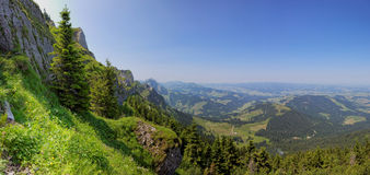 Region of Entlebuch, Switzerland, Foothills of the Alps Royalty Free Stock Image