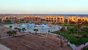 Region Hamat hotel. Hotel Wadi Lahmy Azur Resort Royalty Free Stock Photo
