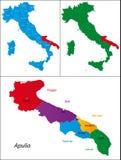 Region of Italy - Apulia Royalty Free Stock Photos