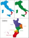 Region of Italy - Calabria Royalty Free Stock Image