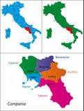 Region of Italy - Campania Stock Photos