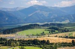 Region Liptov at Slovakia Royalty Free Stock Photography