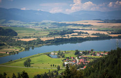 Region Liptov at Slovakia Stock Photo