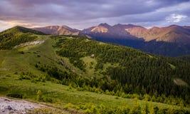 Region Liptov in Slovakia an his nature and high tatras mountains Stock Image