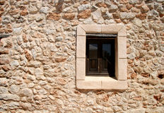 region morza Śródziemnego przez okno Zdjęcia Royalty Free