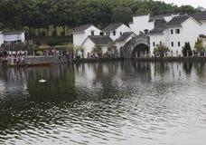 Region von Flüssen und von Seen Stockfoto