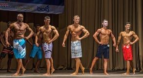 Regionaal bodybuilding kampioenschap Royalty-vrije Stock Fotografie