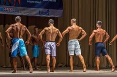 Regionaal bodybuilding kampioenschap Stock Afbeelding