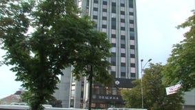 Regional administration of Varna, Bulgaria stock footage