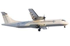 regional atr-landning för 72 flygplan Royaltyfri Fotografi