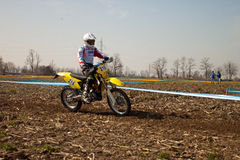 Regional Championship Enduro Royalty Free Stock Photo
