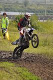 Regional cross-country race competitions in Tyumen 02.08.2014. Stock Photography
