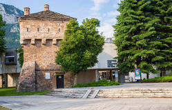 Regional Historical Museum in Vratsa, Bulgaria. The Regional Historical Museum in Vratsa was officially opened in 1953. it is located in the central part of town Stock Photography