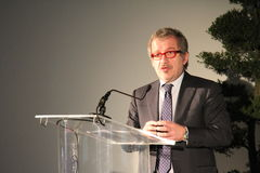 The regional president Roberto Maroni Oct, 2013, for archive Royalty Free Stock Photography