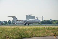 Regional rassenger jet Royalty Free Stock Photography