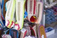 Regional slipper Crete, Greece Royalty Free Stock Photo
