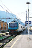 Regional train in Italy royalty free stock images