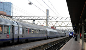 Regional train Rhone Alpes -  SNCF Stock Photo