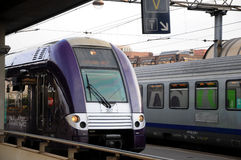 Regional train Rhone Alpes -  SNCF Royalty Free Stock Photo