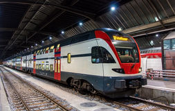 Free Regional Train To Schaffhausen In Zurich Royalty Free Stock Photography - 50622297