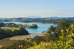 Regionala Mahurangi parkerar Nya Zeeland Royaltyfria Bilder