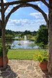 Regionala Meadowlark Botanical Gardens Northern Virginia parkerar arkivfoton