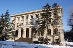 Regionale Hauptsitze National Banks von Rumänien in Iasi, Rumänien lizenzfreie stockfotos